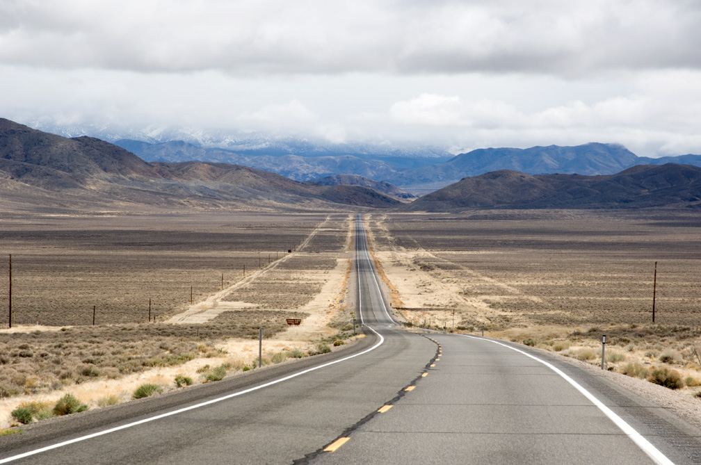 Loneliest Road In America Map.Photolalia The Loneliest Road In America Some Images And A